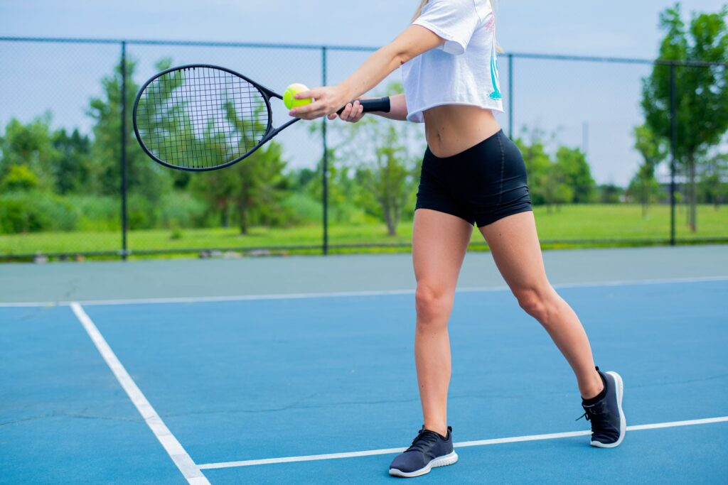 How demanding is tennis for professionals?