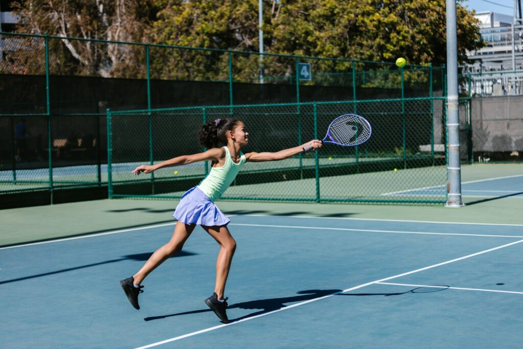 What can influence the difficulty of playing tennis?
